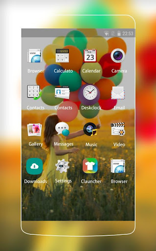 Theme for Oppo 3000 HD 1.0.1 screenshots 2