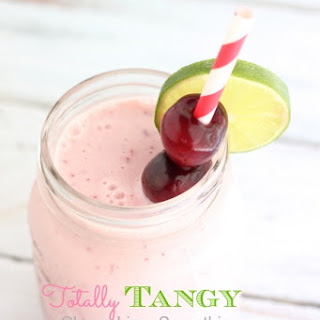 Cherry Lime Smoothie.