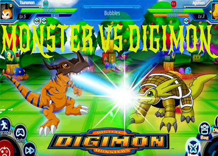 Digimon Attack Agumon Rumble Arena - náhled