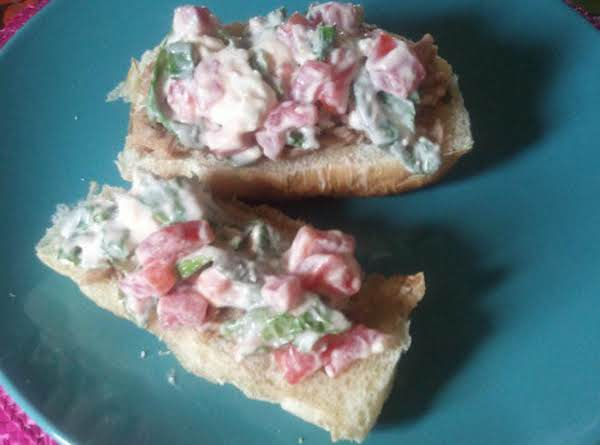 Tuna Thyme Sandwich