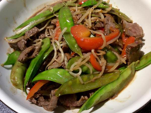 Easy Beef Stir Fry (low Fat) Recipe