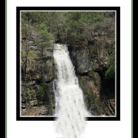 Cup of Waterfall by Heather G - Digital Art Things ( waterfall cup )