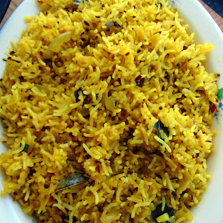 Indian Restaurant Style Rice.