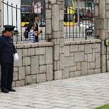 Noon Gun in Hong Kong, guard gets ready to fire in Hong Kong, , Hong Kong SAR
