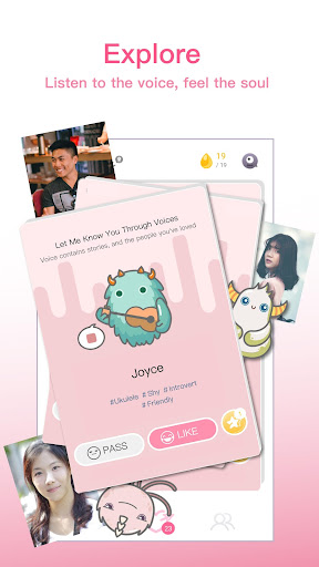 ?MonChats - Match People with Voice! 1.2.2730 screenshots 2