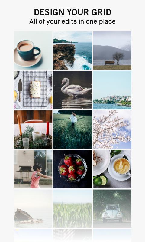 Screenshots of InstaSize- Photo Editor for iPhone