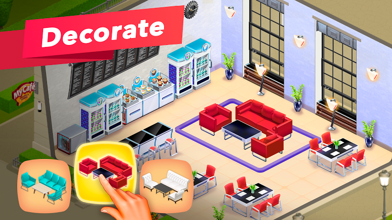 My Cafe — Restaurant game Screenshot 1