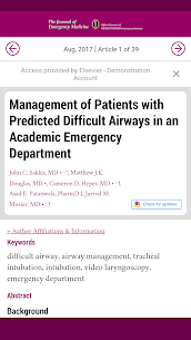 Journal of Emergency Medicine 7.6.0 Mod APK Updated Android 2