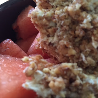 Watermelon Mascarpone Crumble