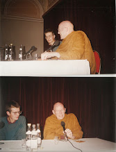 Photo: Ajahn Sumedho giving another Dhamma talk