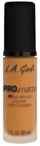 Bases La Girl Pro Matte 680 Golden Bronze