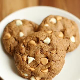 Thick and Chewy Maple Almond Butter Cookies.