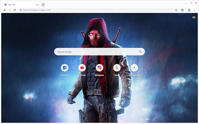 Red Hood Wallpapers New Tab