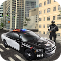 Police Driver Death Racer icon
