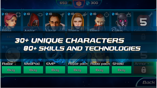 Starvengers: Mind-blowing, Sci-Fi Space Strategy 1.0.48 Android APK Mod 3