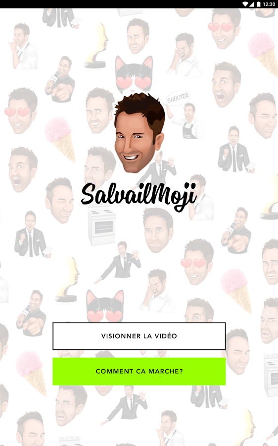 SalvailMoji- capture d'écran
