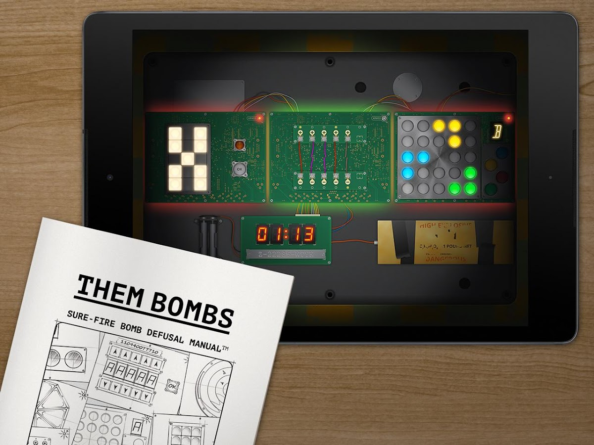 Them Bombs: co-op board game- screenshot