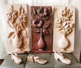 Photo: Talla en madera. Woodcarving.   Puedes conocer más de este artista en el blog: http://tallaenmadera-woodcarving-esculturas.blogspot.com/