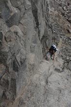 Photo: Centeno. Y su conocido escalón de roca Quilca - Matarani 23-25 de Nov. (2013)