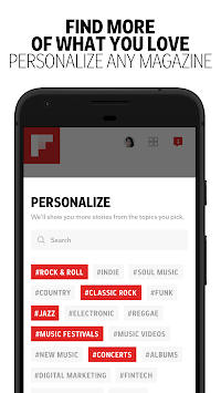 Flipboard APK screenshot thumbnail 4