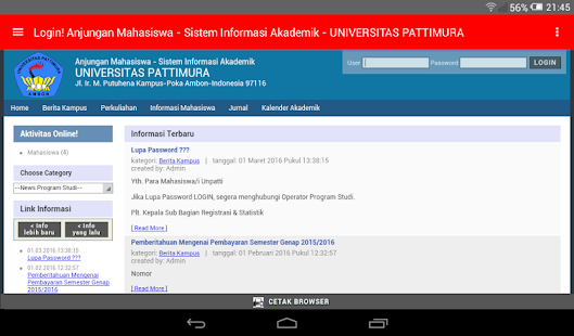 Faculty of Law Unpatti Mobile- screenshot thumbnail
