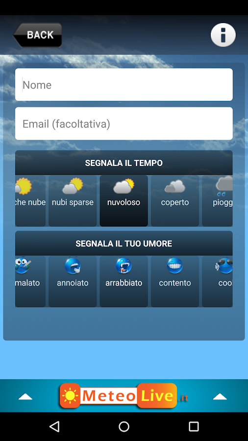 MeteoLive.it- screenshot