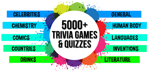 5000+ Trivia Games & Quizzes - Apps on Google Play