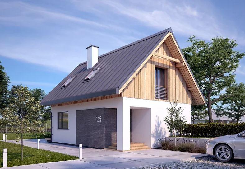 Projekt domu Groszek 2