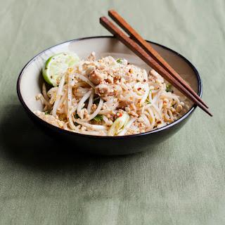 Chicken Pad Thai.