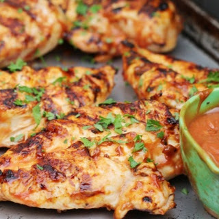 BBQ Chicken Breasts on the Grill