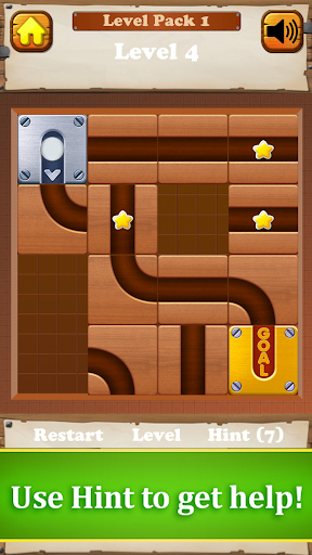 Roll a Ball: Free Puzzle Unlock Wood Block Game 1.0 screenshots 3
