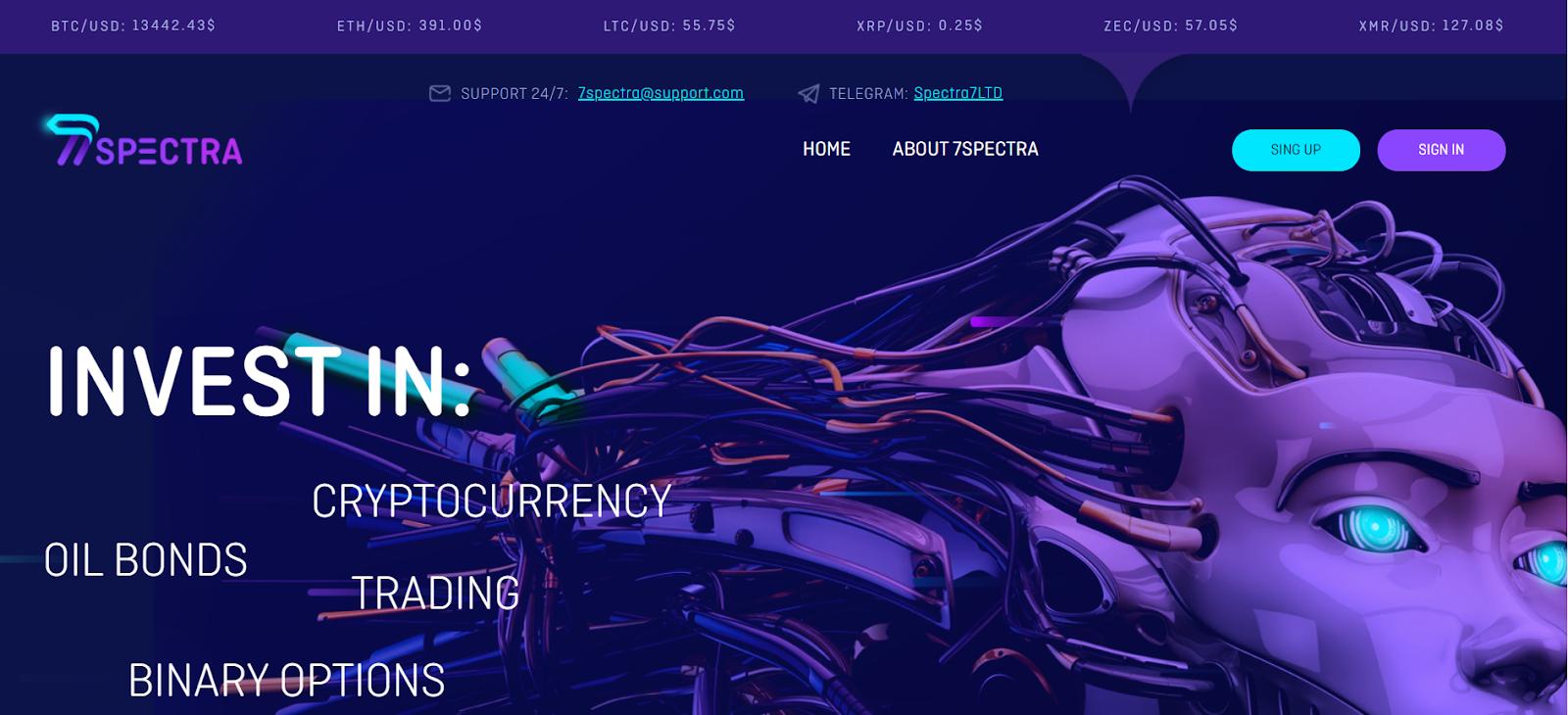 Обзор новой инвестиционной платформы 7Spectra, отзывы инвесторов