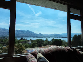 Photo: View from her living room.