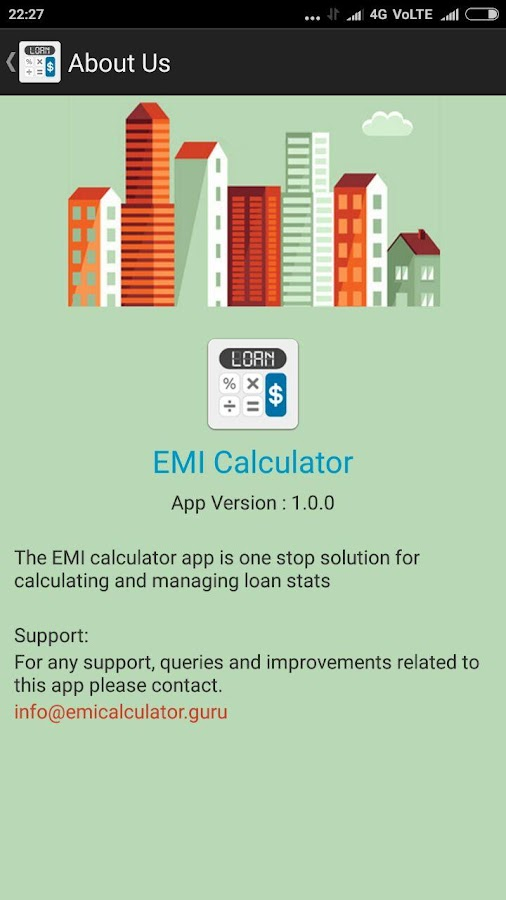 EMI Calculator Guru- screenshot