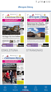 Strengnäs Tidning - náhled