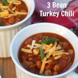 Slow Cooker 3-Bean Turkey Chili Recipe Variations.