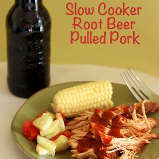 Slow Cooker Root Beer Pulled Pork.