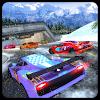 تساقط الثلج، سيارة، عداء، المغامرة، 3d APK