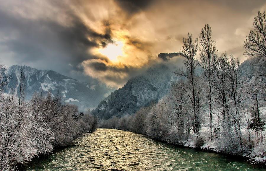Ziller by Axel K. Böttcher - Landscapes Mountains & Hills