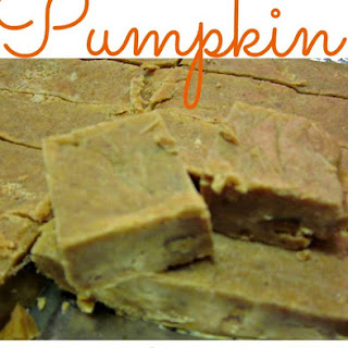 Fresh Pumpkin Fudge