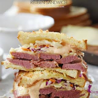 Instant Pot Corned Beef and Reuben Sandwich.