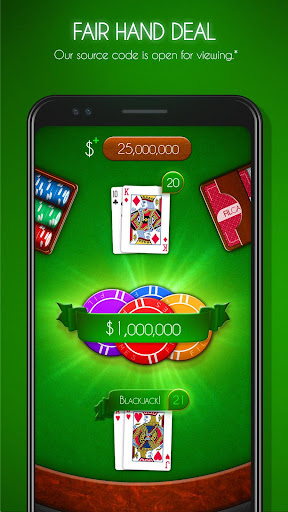 Blackjack! u2660ufe0f Free Black Jack Casino Card Game 1.7.0 screenshots 1
