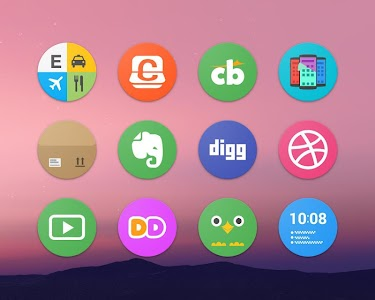 Pixel Icon Pack-Nougat Free UI screenshot 10