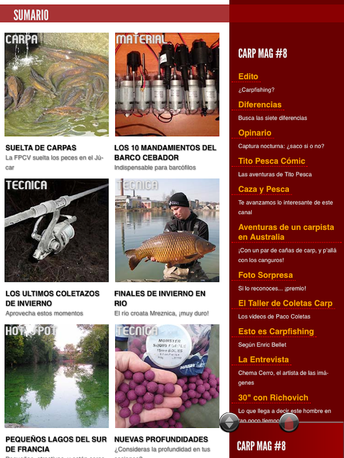 CarpMAG 8- screenshot