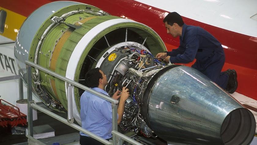 Air Nostrum, servicio de mantenimiento para garantizar la fiabilidad