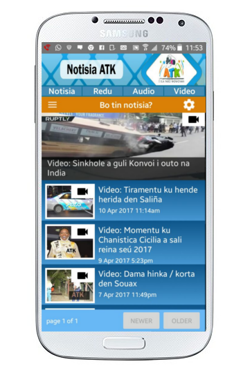 ATK News (Awor Tin Kos)- screenshot