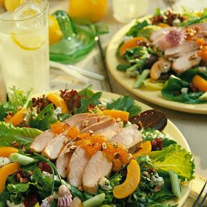 Apricot-Dijon Pork Salad