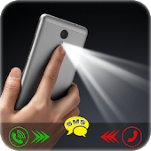 Flashlight On Call And SMS