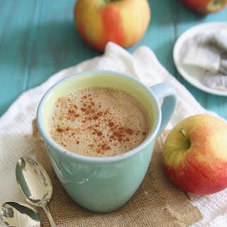 Apple Cinnamon Tea Latte.