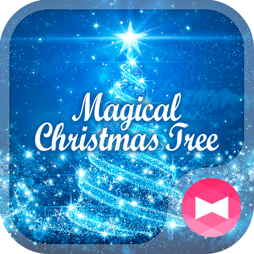 Dreamy Wallpaper Magical Christmas Tree Theme Icon